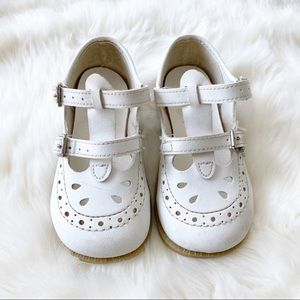 Vintage Superoos double strap Mary Jane baby shoes